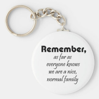 Family quotes funny novelty gifts fun keychains