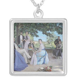 Family reunion, 1867 silver plated necklace