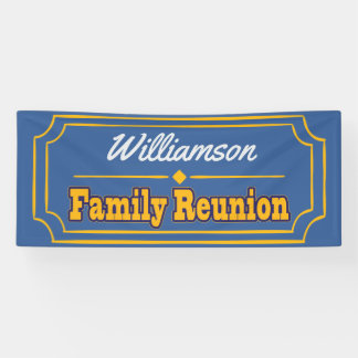 Family Reunion Banner Decoration