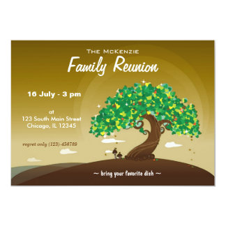Family Reunion (Brown) Card