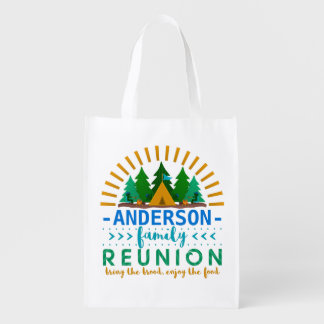 Family Reunion Camping Trip Forest | Custom Name