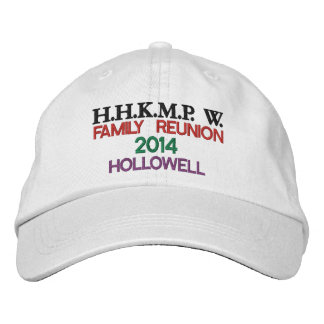 Family Reunion Cap Embroidered Hats