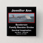 Family Reunion Cruise Name Badge
