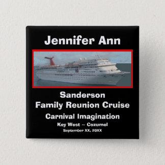 Family Reunion Cruise Name Badge