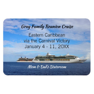 Family Reunion Cruise Ship Cabin Door ID Marker Magnet