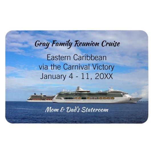 Family Reunion Cruise Ship Cabin Door ID Marker
