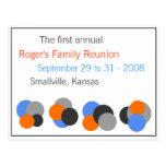 Family Reunion - Customisable Postcard