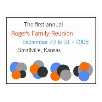 Family Reunion - Customizable Postcard