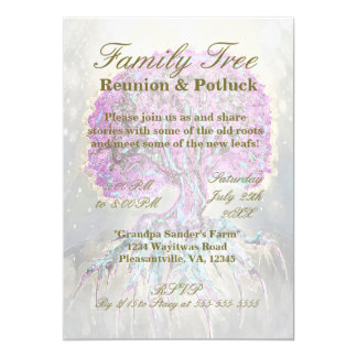 Family Reunion - Family Tree Card