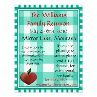 Family Reunion Flier 21.5 Cm X 28 Cm Flyer