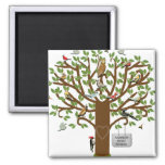 family reunion ideas square magnet