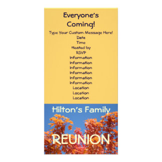 Family Reunion Invitations Announcement Cards