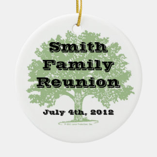 Family Reunion Keepsake Christmas Ornament