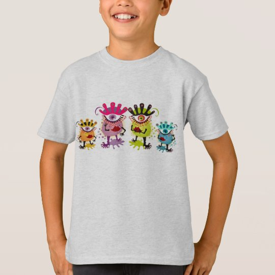 Family Reunion Monsters T-Shirt