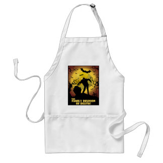 Family Reunion Of Death Adult Apron