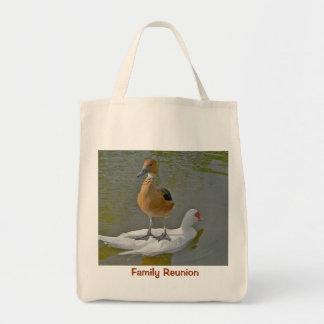 Family Reunion Organic Grocery  Bag