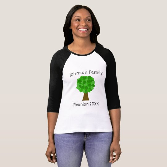 Family Reunion Tree - Customise It! T-Shirt