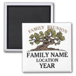 Family Reunion Tree Magnet