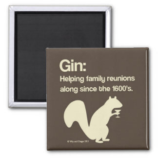 Family Reunions and Gin Magnet