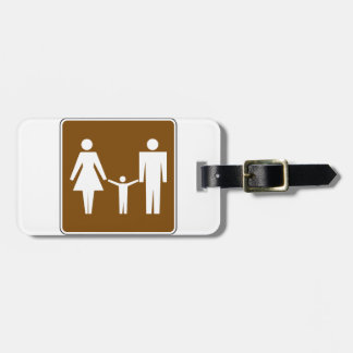 Family Road Sign Luggage Tags
