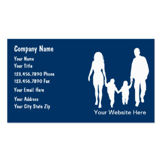 Family Services Business Cards