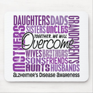 Family Square Alzheimer's Disease Mouse Pads
