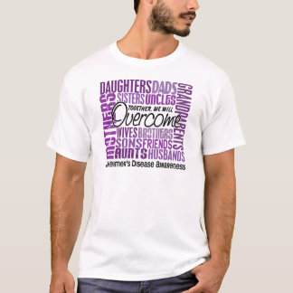 Family Square Alzheimer's Disease T-Shirt