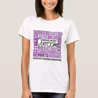 Family Square Alzheimer's Disease T-Shirt