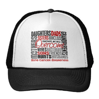 Family Square Bone Cancer Hat