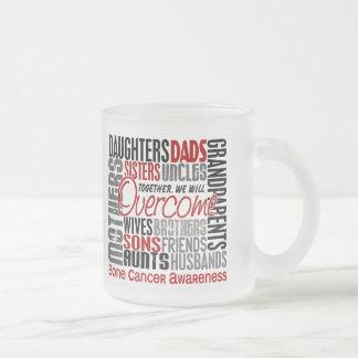 Family Square Bone Cancer Coffee Mug