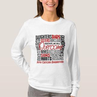 Family Square Bone Cancer T-Shirt