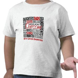 Family Square Bone Cancer T Shirt