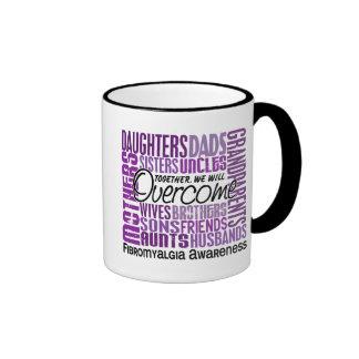 Family Square Fibromyalgia Ringer Mug