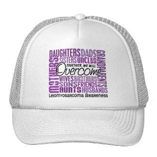 Family Square Leiomyosarcoma Mesh Hat