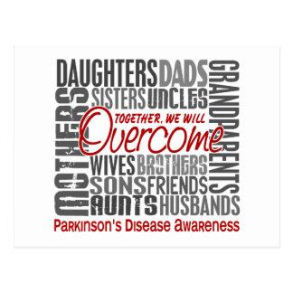 Family Square Parkinson s Disease Post Card