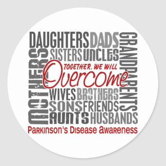 Family Square Parkinson s Disease Stickers