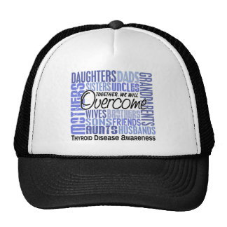 Family Square Thyroid Disease Hat