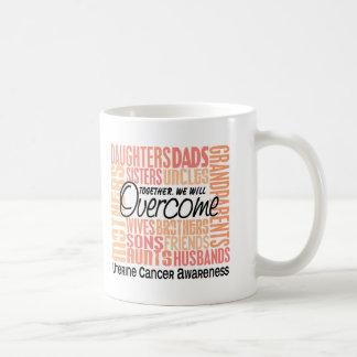 Family Square Uterine Cancer Classic White Coffee Mug