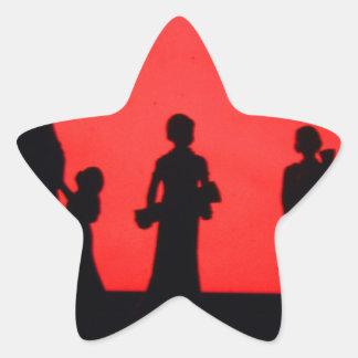 family star sticker