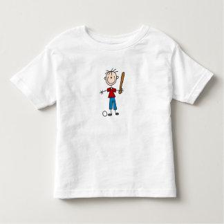 Family Stick Figure Baseball Shirt