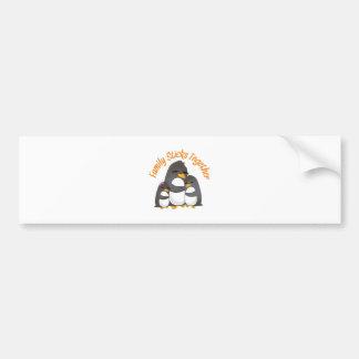 Family Sticks Together Bumper Sticker