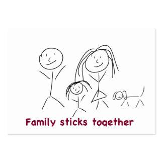 Family Sticks Together Business Cards