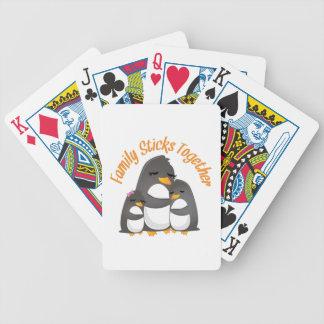 Family Sticks Together Deck Of Cards