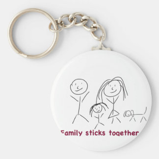 Family Sticks Together Keychain