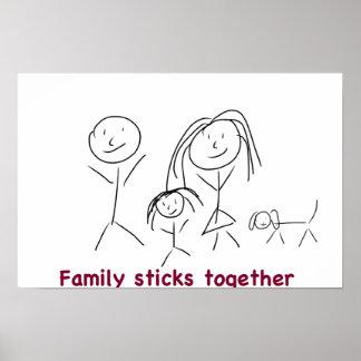 Family Sticks Together Poster