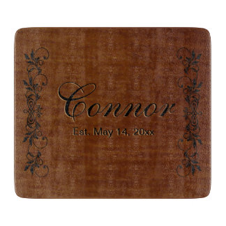Family Surname | DIY Text Cutting Board