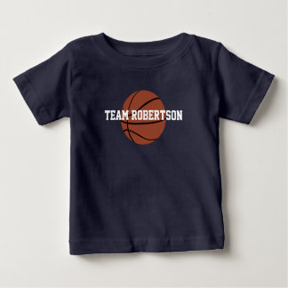 Family Team Basketball Shirt