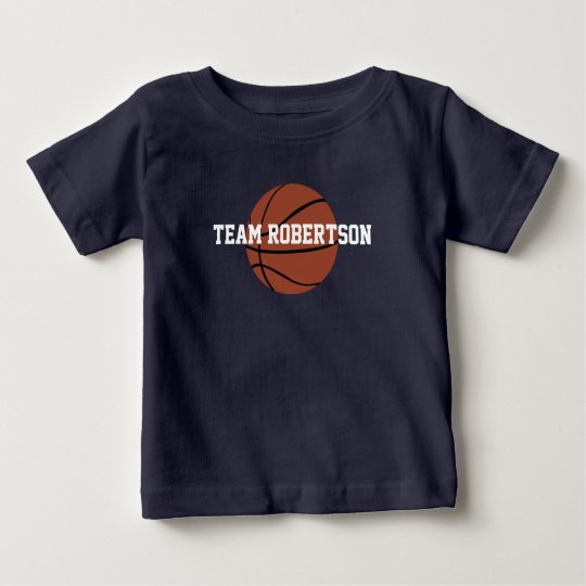 Family Team Basketball Shirt