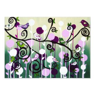 Family Tree 13 Cm X 18 Cm Invitation Card