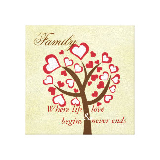 Family Tree Canvas Canvas Prints